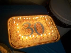 It's hard to believe my sweetheart is 30!