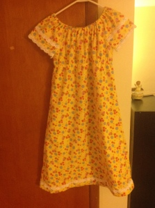 Simplicity 1722 Tween Drawstring Nightgown
