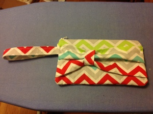 The clutch I made for my sister-in-law.