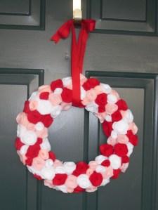 Our Valentine's Day Wreath