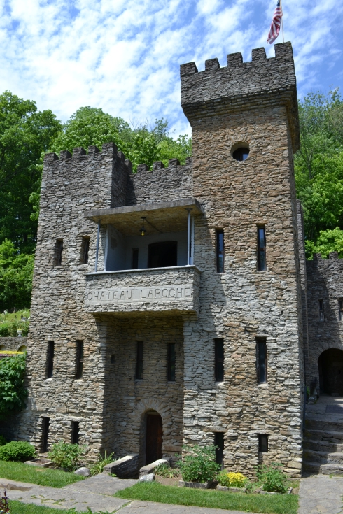 A picture of the Loveland Castle we recently visited.