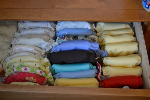 Our Newborn Cloth Diaper Stash
