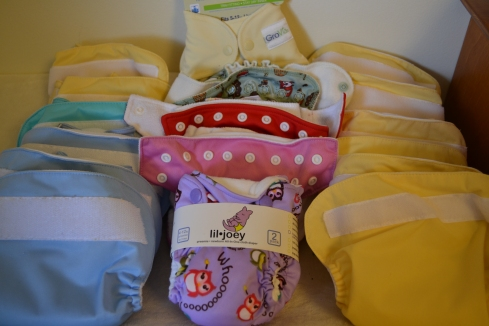 Our Stash of Pocket Diapers