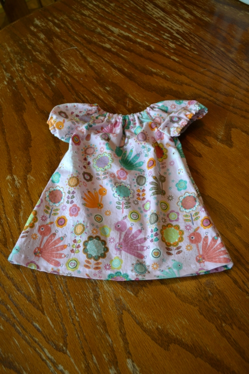 Size Newborn dress